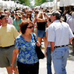 Michigan, Ann Arbor, Main Street, Art Fairs, exhibitors, tents, shoppers,