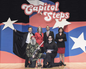 Just in time for July 4, Capitol Steps comes to the Saugatuck Center for the Art.s